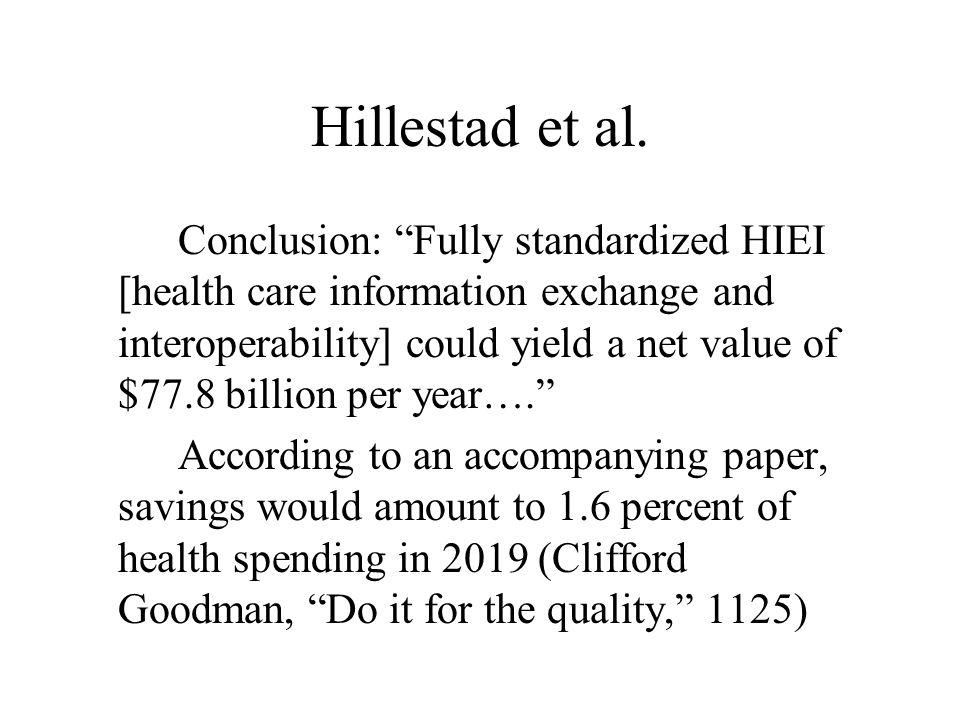 Hillestad et al.