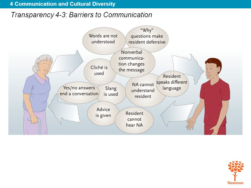 4 Communication and Cultural Diversity Transparency 4-3: Barriers to Communication