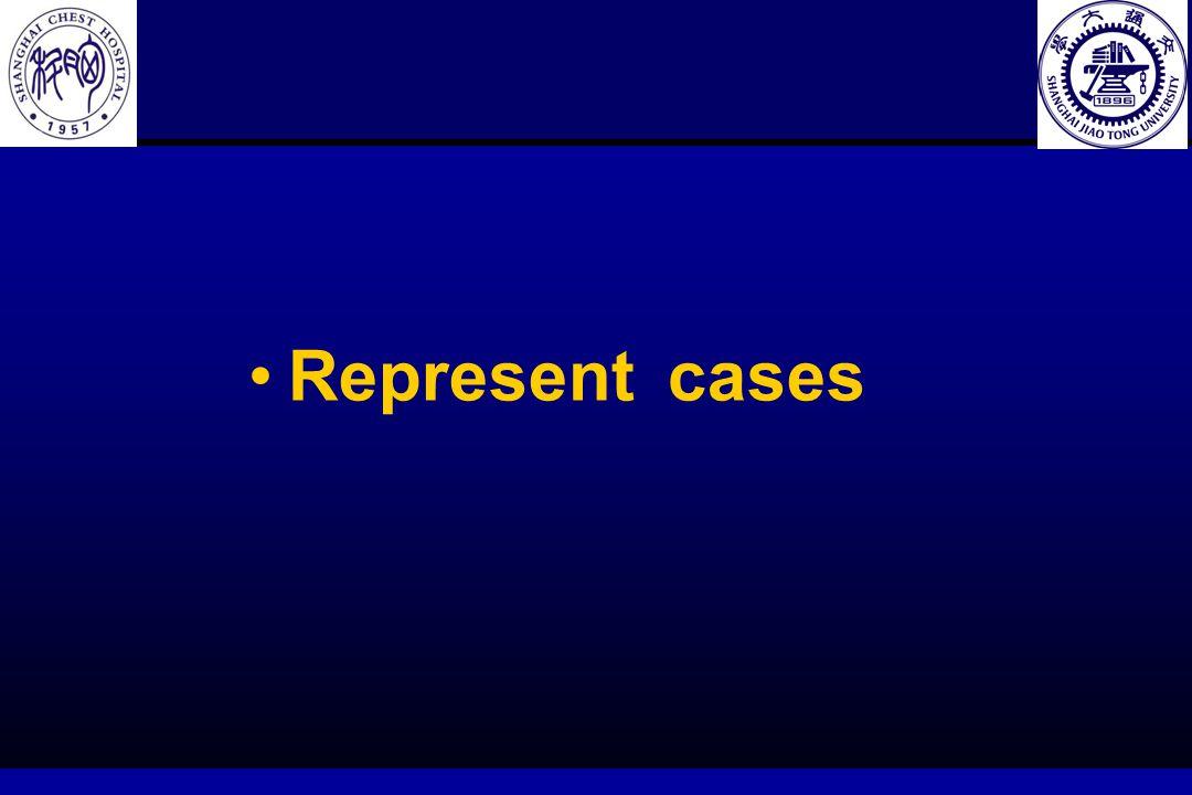 Represent cases