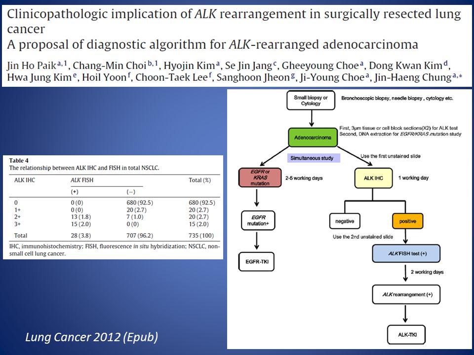 Lung Cancer 2012 (Epub)