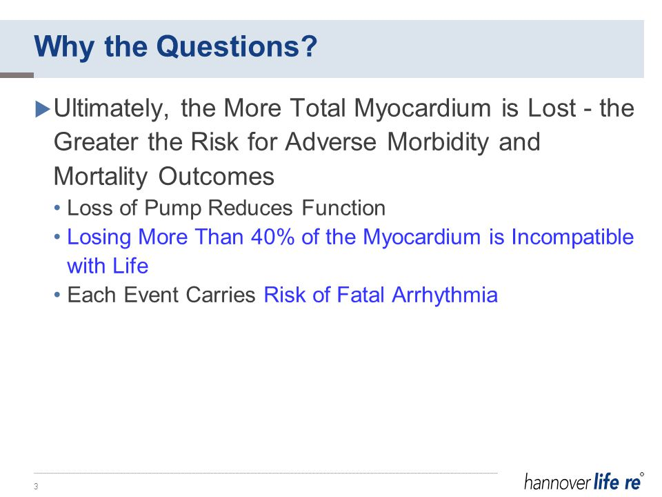 Question 1: How Much Myocardium Has Been Lost?