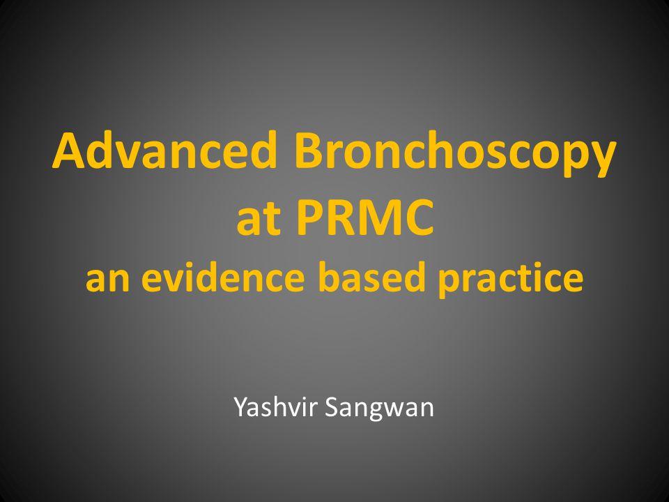 Current Status Advanced Diagnostic Bronchoscopy – Linear EBUS – Radial EBUS – Thin Bronchoscopy – Electromagnetic Navigational Bronchoscopy – Cryobiopsy Therapeutic Bronchoscopy Pleural Procedures Critical Care Procedures