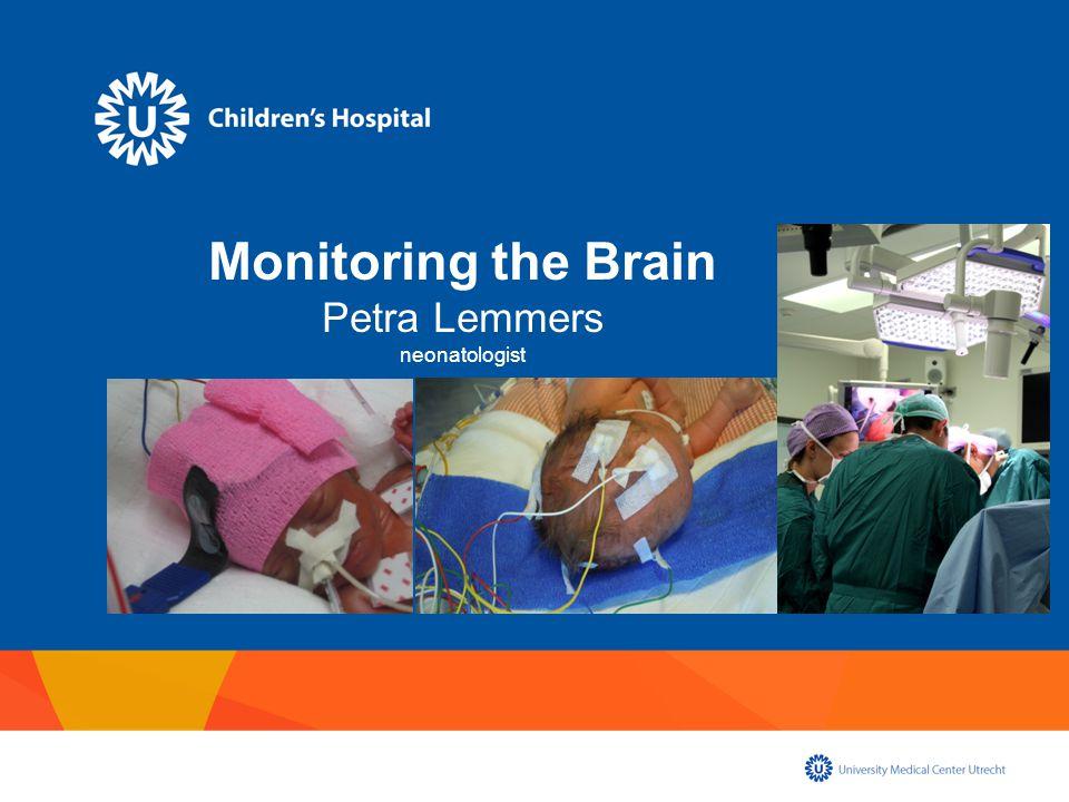 Relation brain monitoring Blood pressure Patent ductus arteriosus Autoregulatory ability (Mechanical) ventilation Surgery