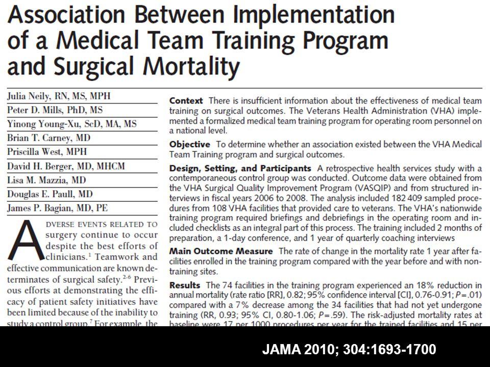 JAMA 2010; 304:1693-1700