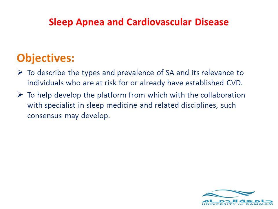 Sleep Apnea and Cardiovascular Disease