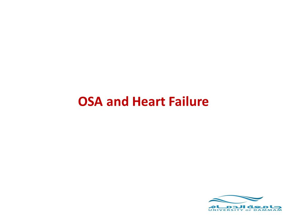 OSA and Heart Failure