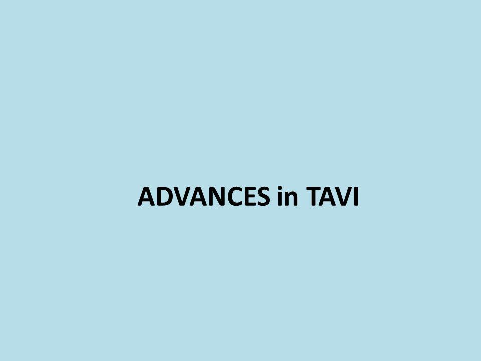 ADVANCES in TAVI