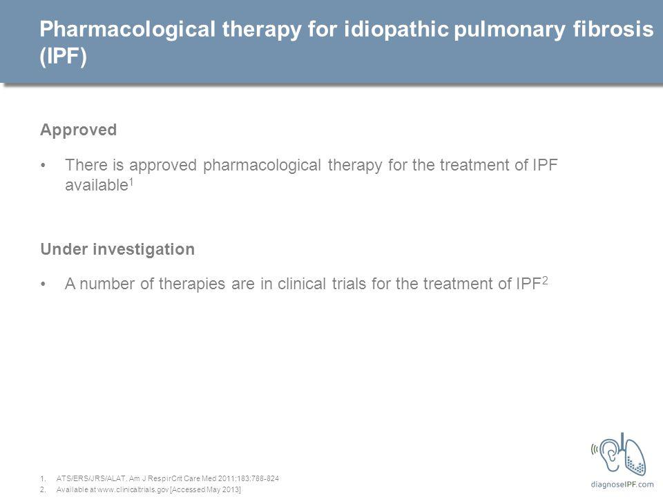 Idiopathic pulmonary fibrosis (IPF) patient management