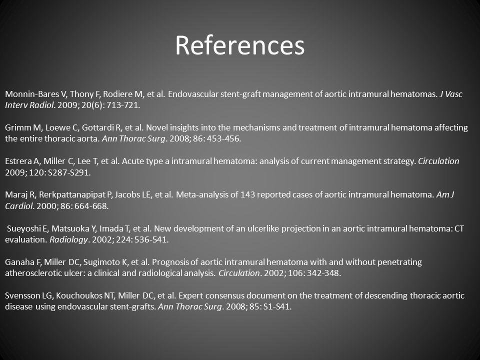 References Monnin-Bares V, Thony F, Rodiere M, et al.