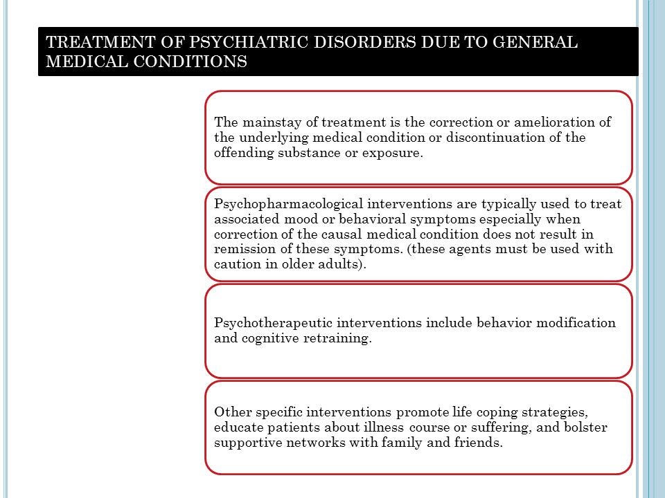 PSYCHIATRIC ASPECTS IN ENDOCRINE DISORDERS Hyperthyroidism  Most common psychiatric symptoms associated with graves disease are  Irritability (78%)  Shakiness (77%)  Slowed thinking(40%)  Depression, mania have also been reported  In younger patients hyperthyroidism presents as hyperactivity and at old age presents as depression  Treatment of these conditions are indicated however correction of thyroid dysfunction is primary  Most common psychiatric symptoms associated with graves disease are  Irritability (78%)  Shakiness (77%)  Slowed thinking(40%)  Depression, mania have also been reported  In younger patients hyperthyroidism presents as hyperactivity and at old age presents as depression  Treatment of these conditions are indicated however correction of thyroid dysfunction is primary