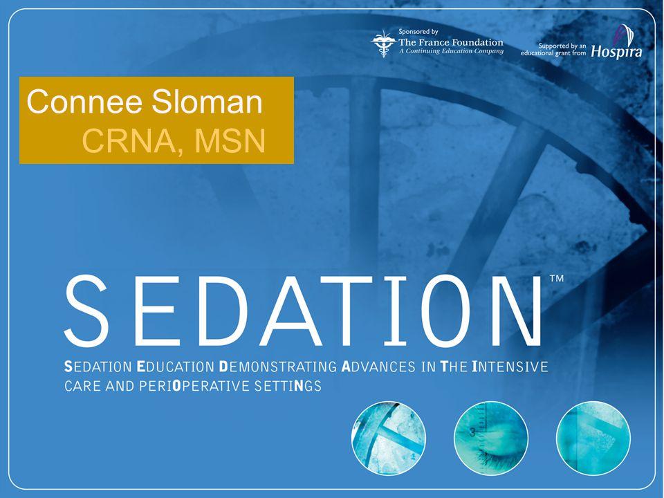 Connee Sloman CRNA, MSN