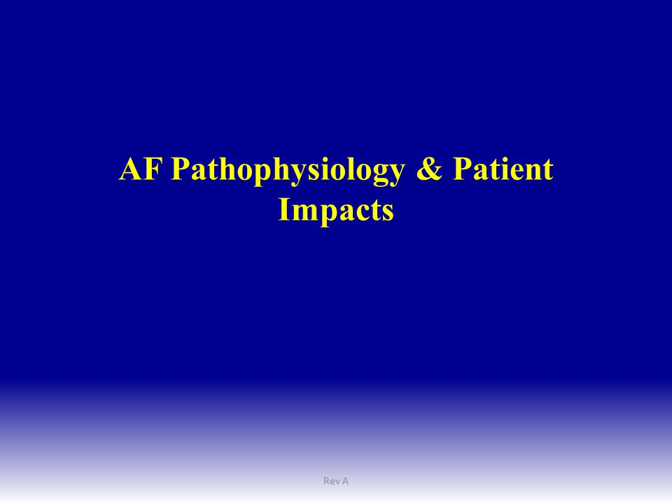 Challenges to Adoption Concomitant AF Treatment