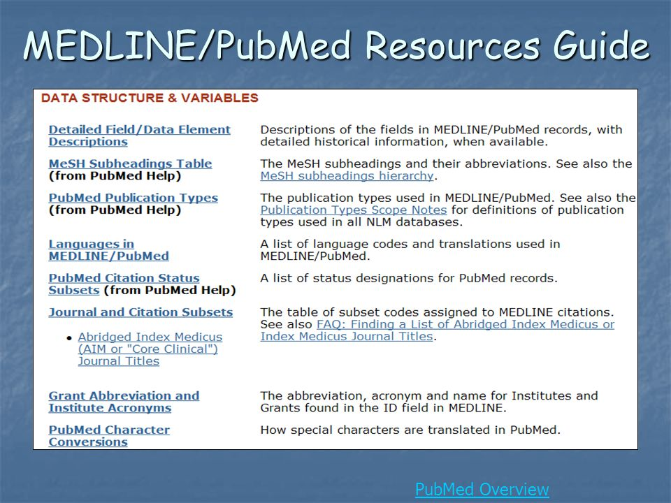 New Data Added Courtesy of the PubMed Central Back Issue Digitization Project NLM digitized and deposited in PMC the full text for nearly 40 journals back to the first volume.