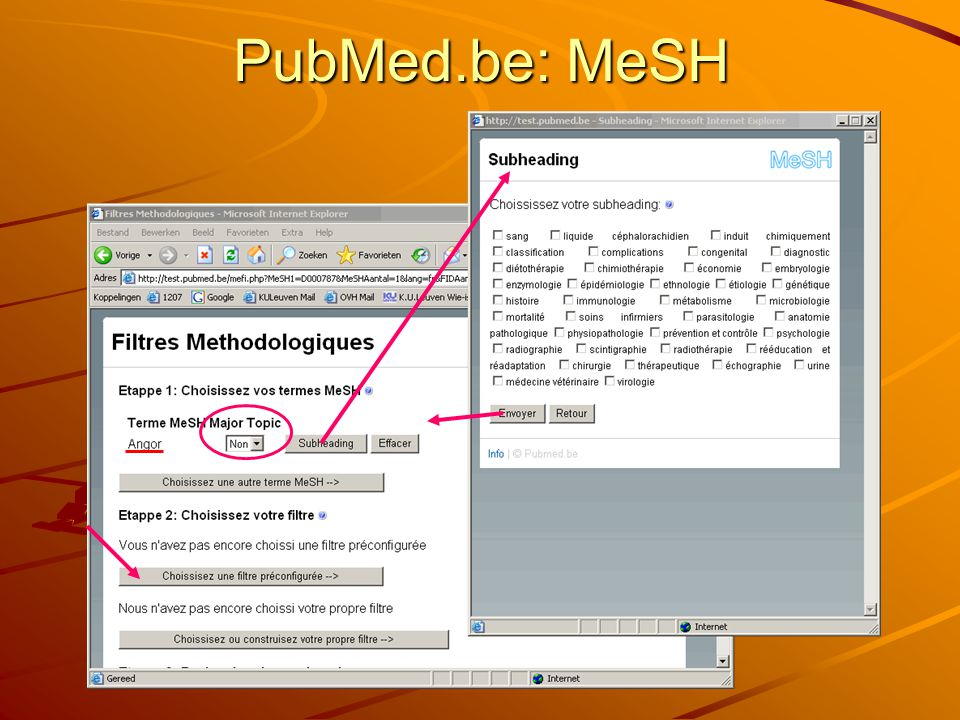 PubMed.be: MeSH