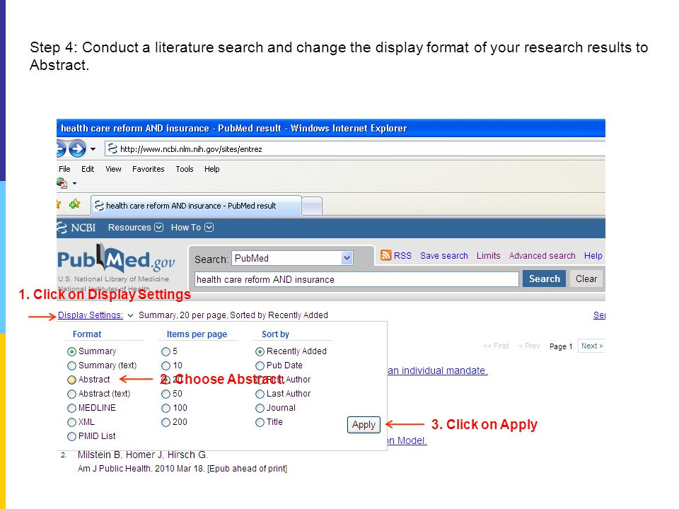 Step 5: Clicking on any of the two icons, OhioLINK EJC and Electronic, will connect you to a web page where you can download a full-text journal article.