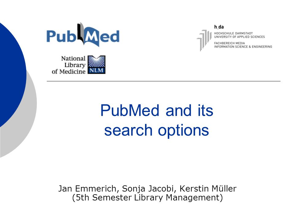 Table of Contents  What is PubMed.