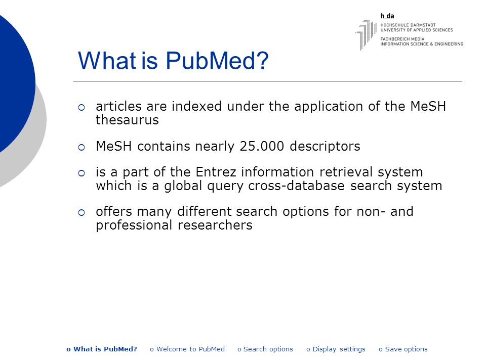 What is PubMed.