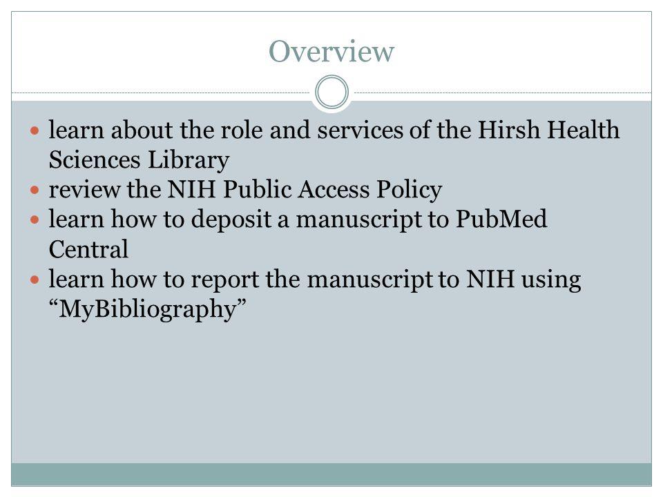 Hirsh Health Sciences Library
