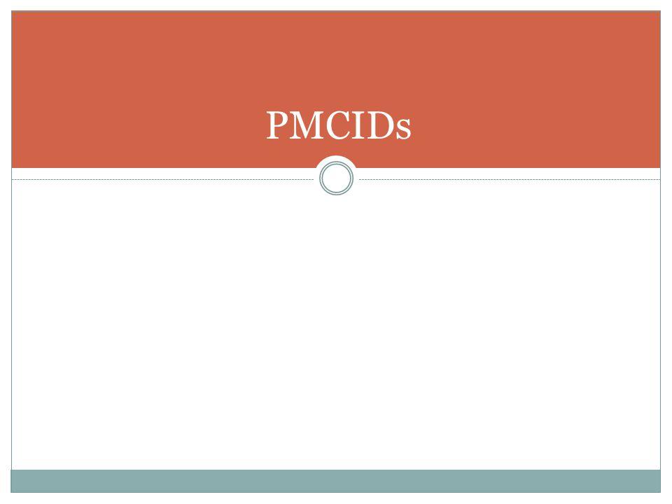 PMCIDs