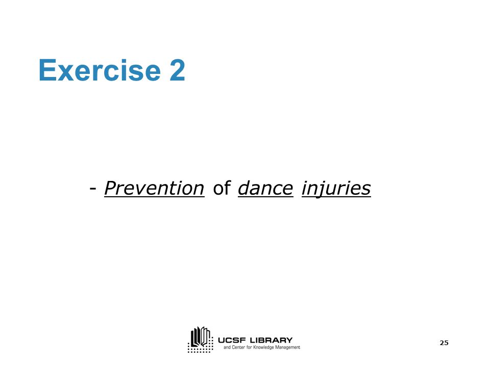 24 Exercise 1 –cont.
