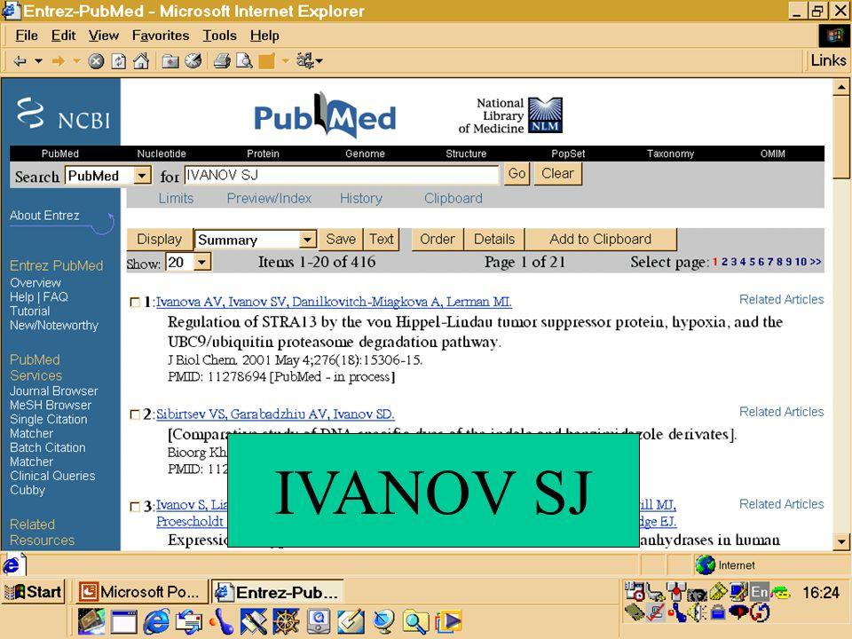 IVANOV SJ
