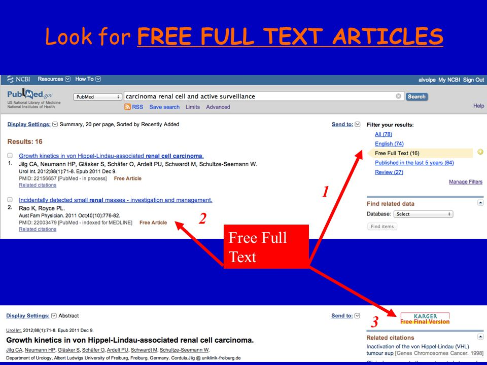 Free Full Text Look for FREE FULL TEXT ARTICLES 1 3 2
