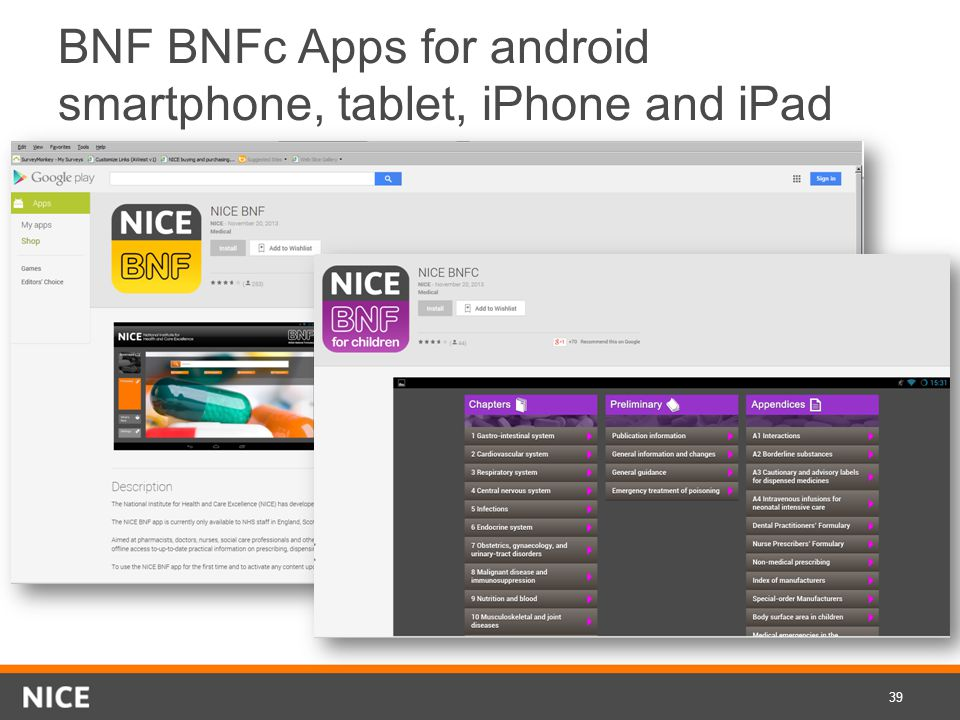 BNF BNFc Apps for android smartphone, tablet, iPhone and iPad 39