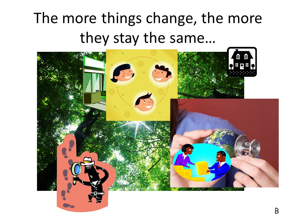 The more things change, the more they stay the same… HMO's Managed care Capitation Evidenced-based medicine Medical Homes Care management Global fees
