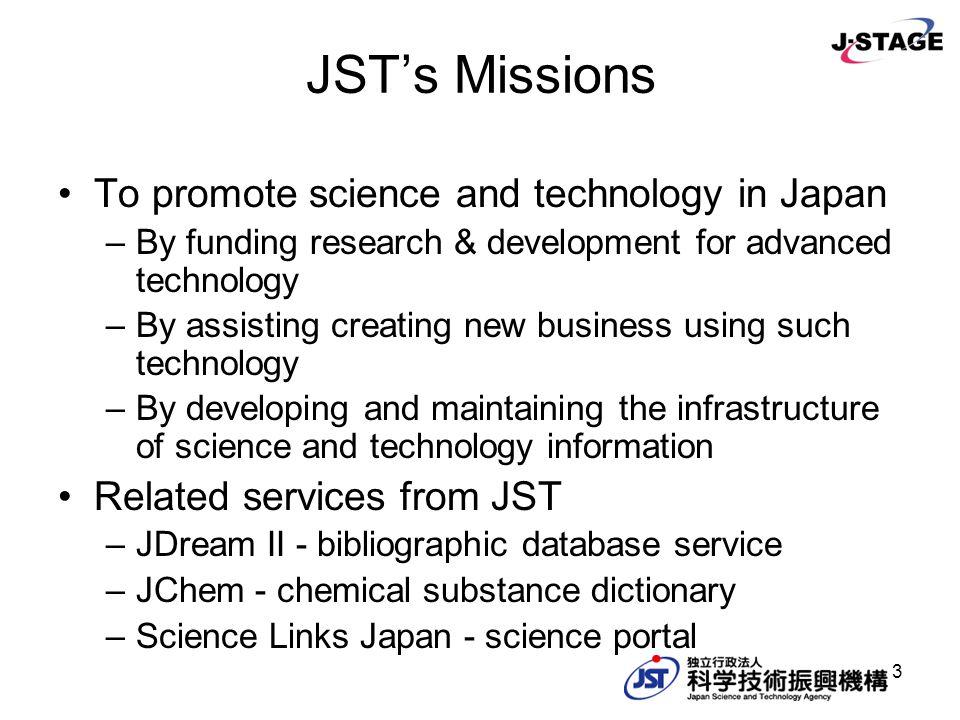 14 User Distribution of J-STAGE