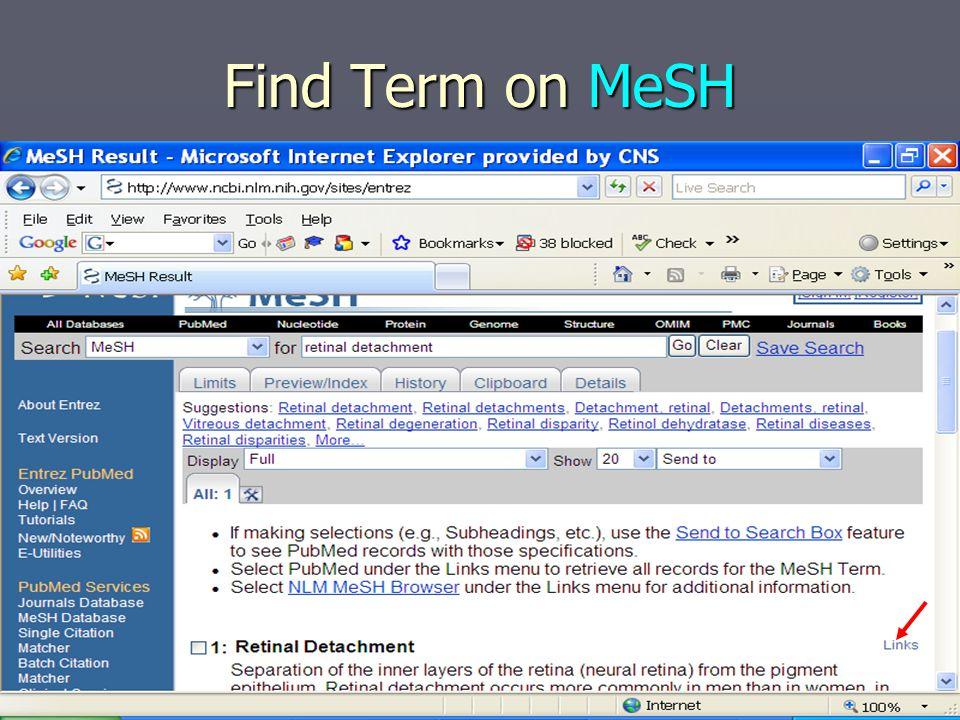 Paste (Ctrl V) PMID in PubMed Search Bar