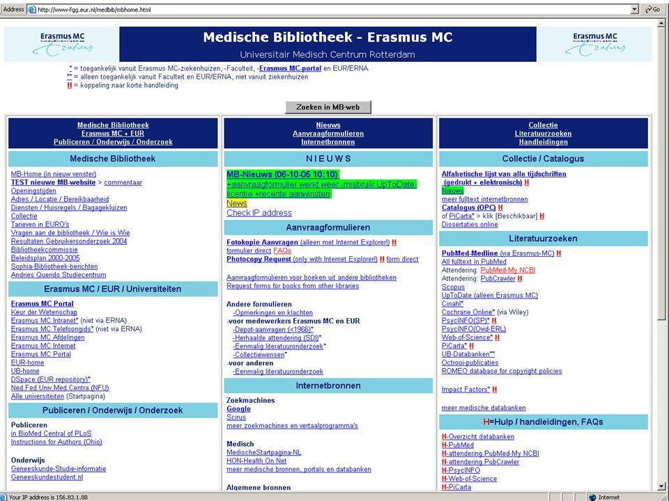 Medical Library Erasmus MC10-10-200522