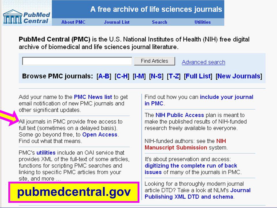 PubMed Central (1) pubmedcentral.gov