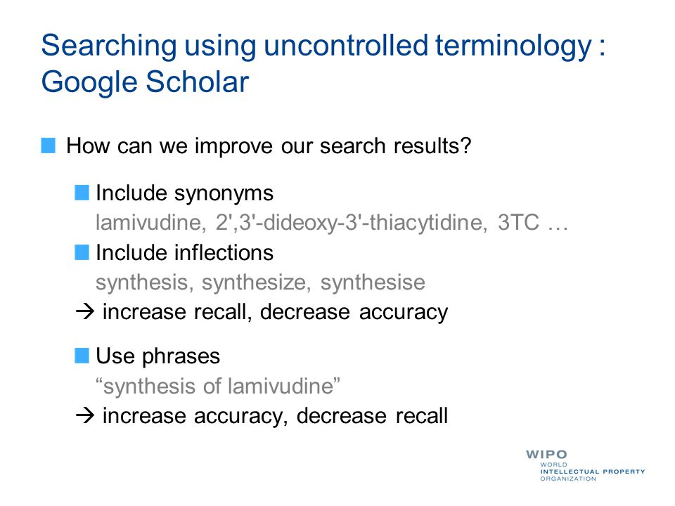 How can we improve our search results.
