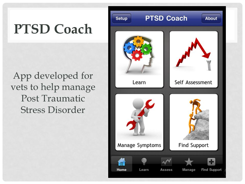 PTSD Coach App developed for vets to help manage Post Traumatic Stress Disorder