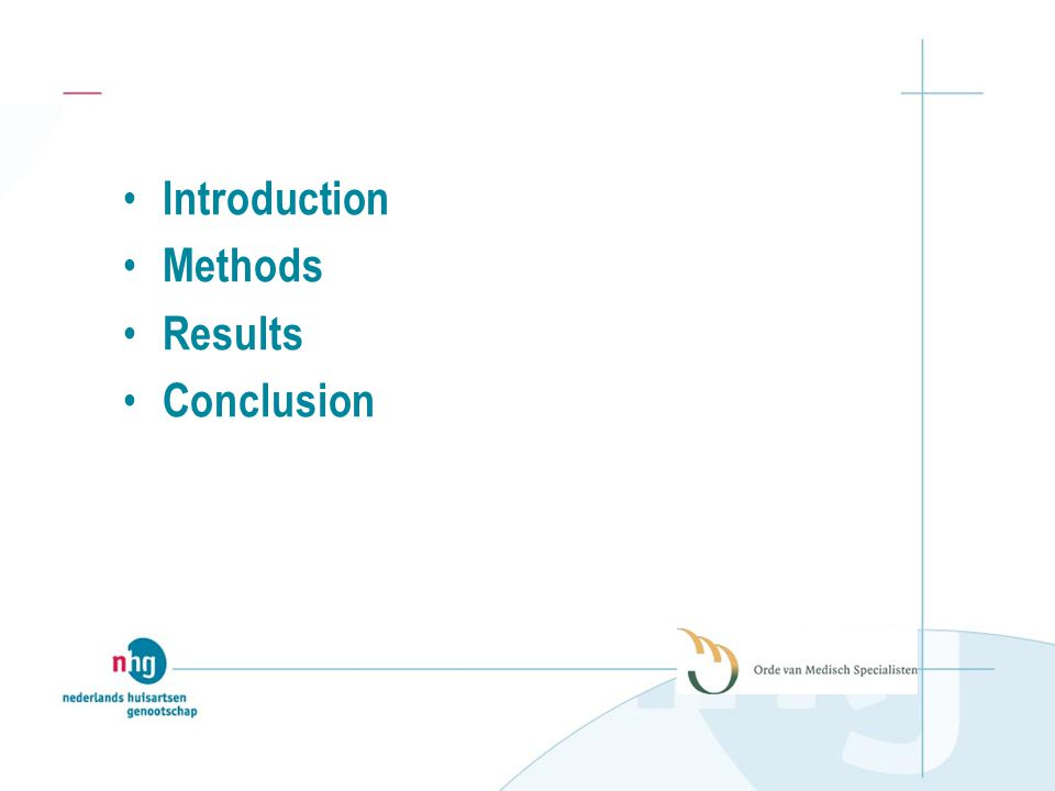 Introduction Methods Results Conclusion