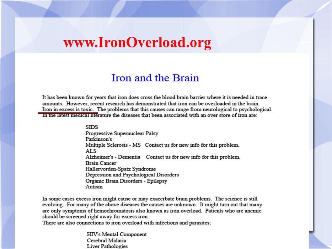 www.IronOverload.org