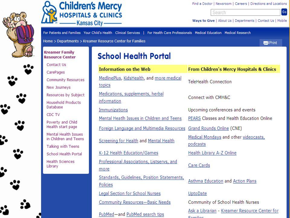 School Health Portal