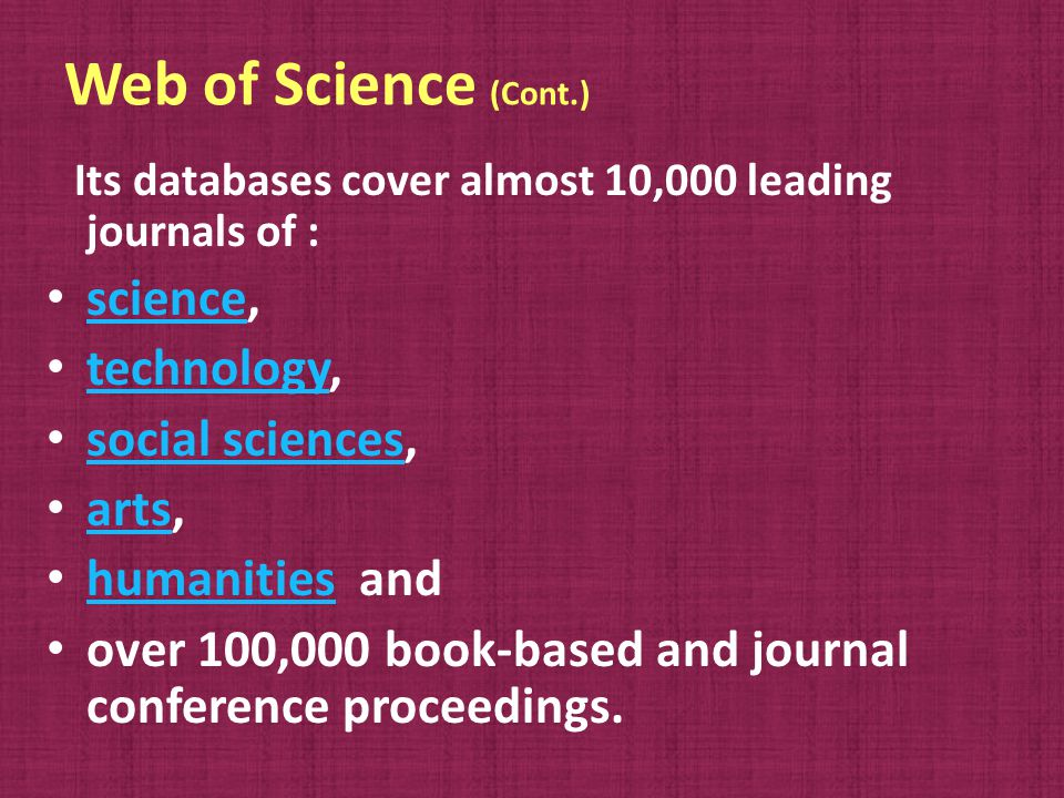 What s the difference between Web of Science and ISI Web of Knowledge.