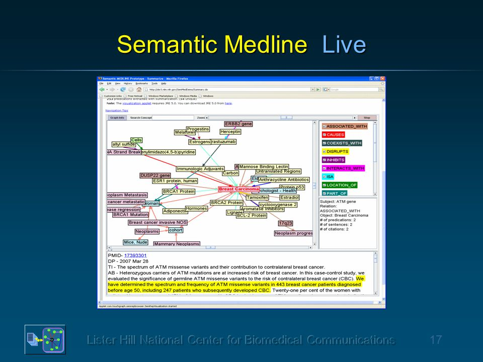 17 Semantic Medline Live