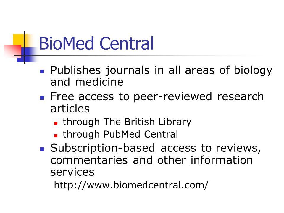 BioOne: A SPARC Initiative
