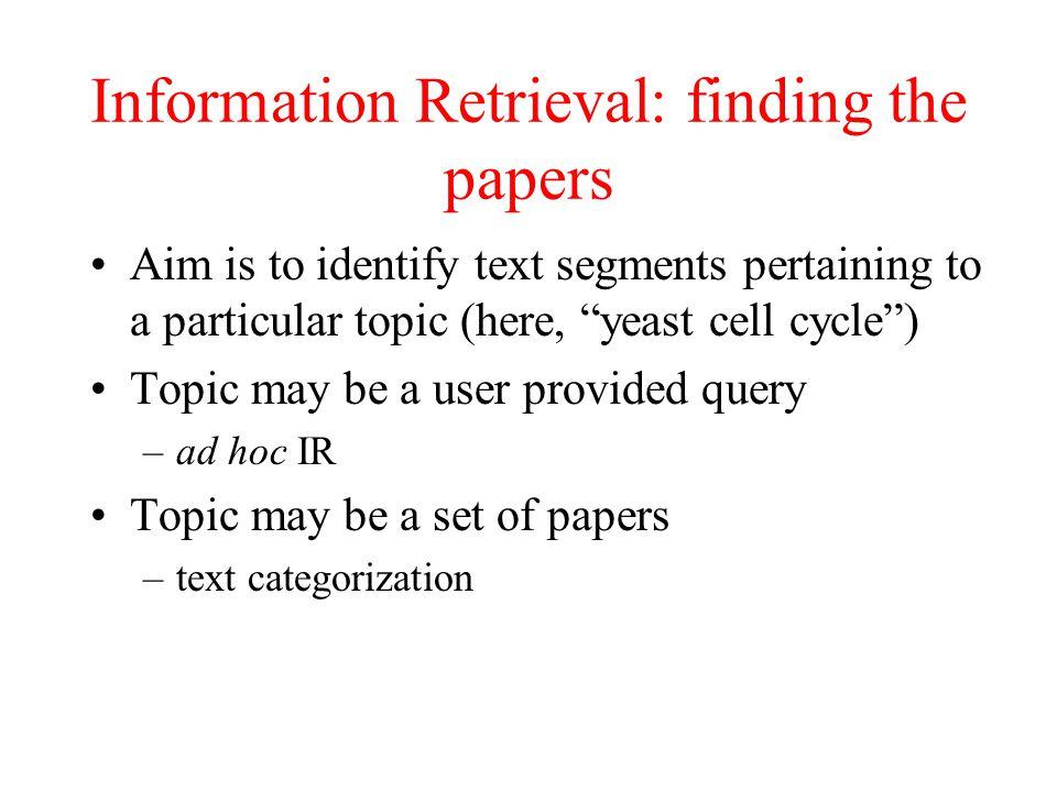 Keyword Retrieval Module (IR) Dictionary-based keyword retrieval: to retrieve all documents containing any synonyms of the target gene.