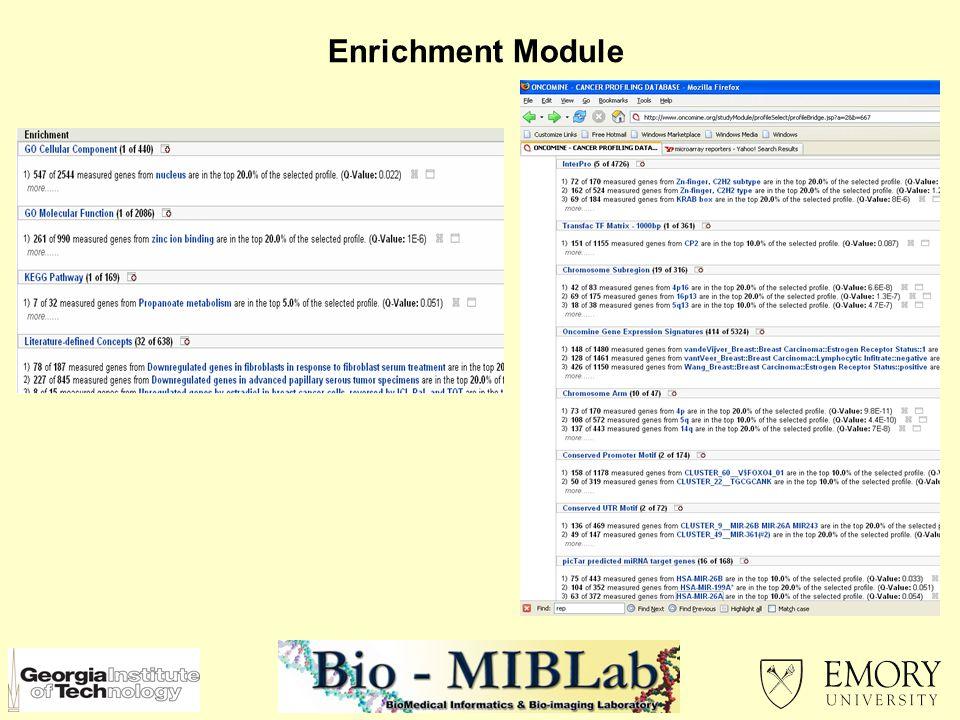 Enrichment Module