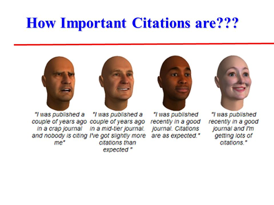 How Important Citations are???