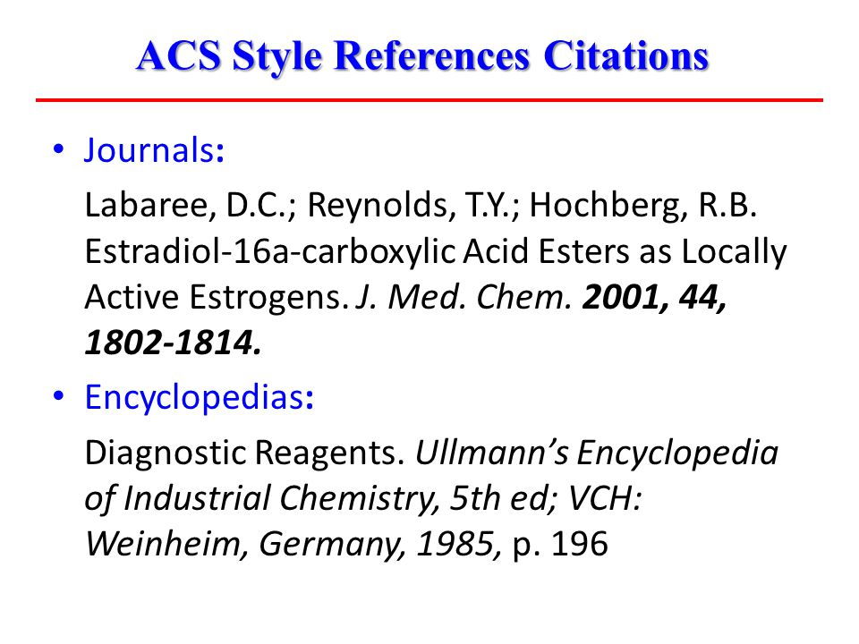Journals: Labaree, D.C.; Reynolds, T.Y.; Hochberg, R.B.