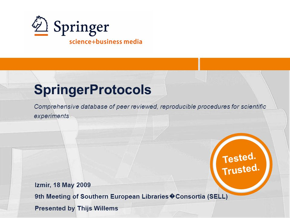 Springer Databases22 Current Protocols Comparison Protocol Amount18,00010,644 Subject Collections1516 (incl.