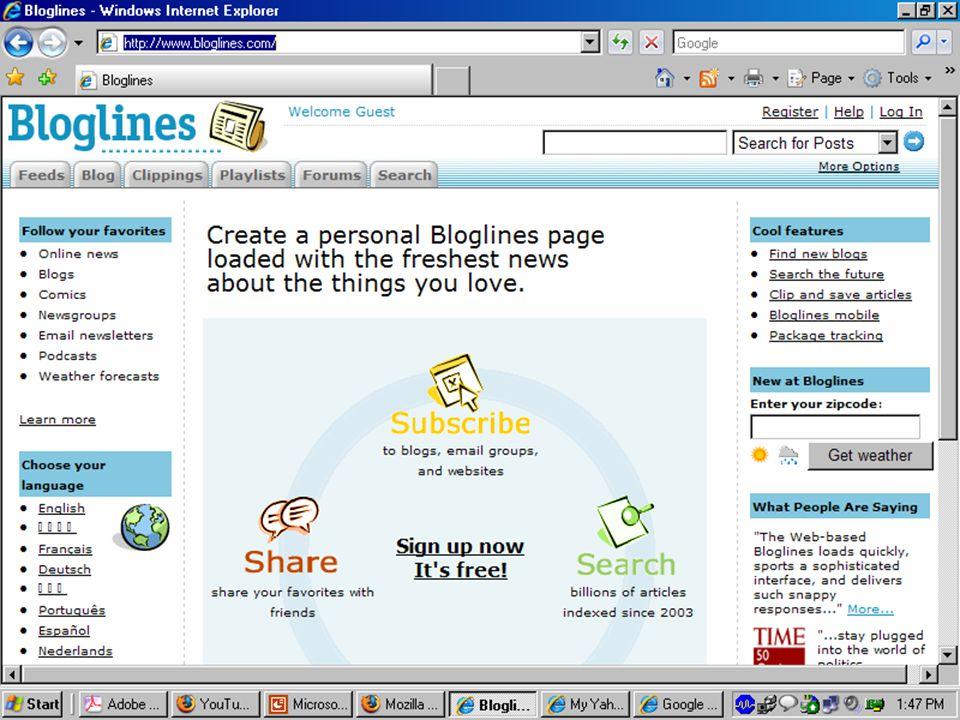 http://www.bloglines.com/