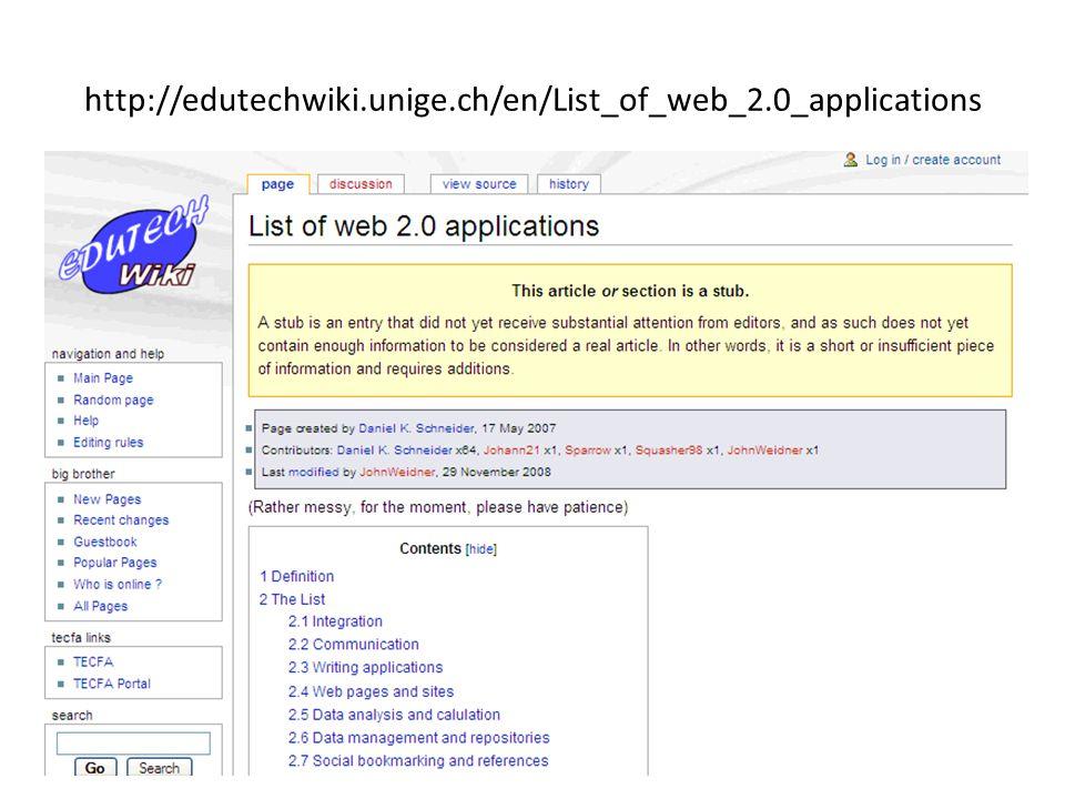 http://edutechwiki.unige.ch/en/List_of_web_2.0_applications