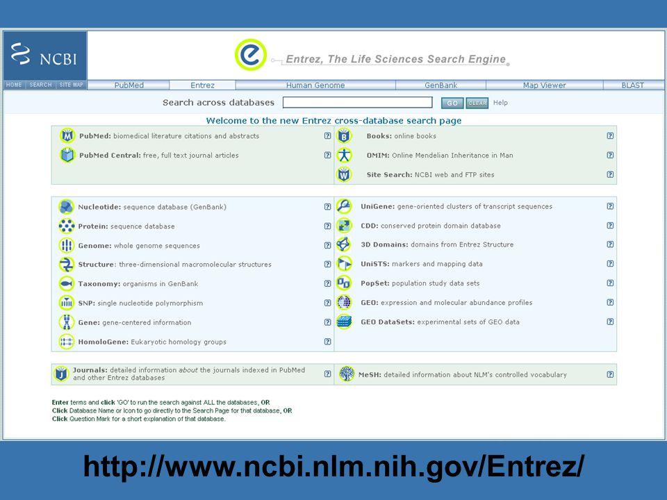 http://www.ncbi.nlm.nih.gov/Entrez/