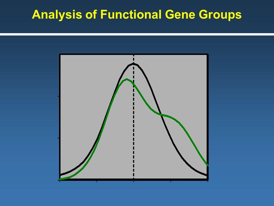 Analysis of Functional Gene Groups