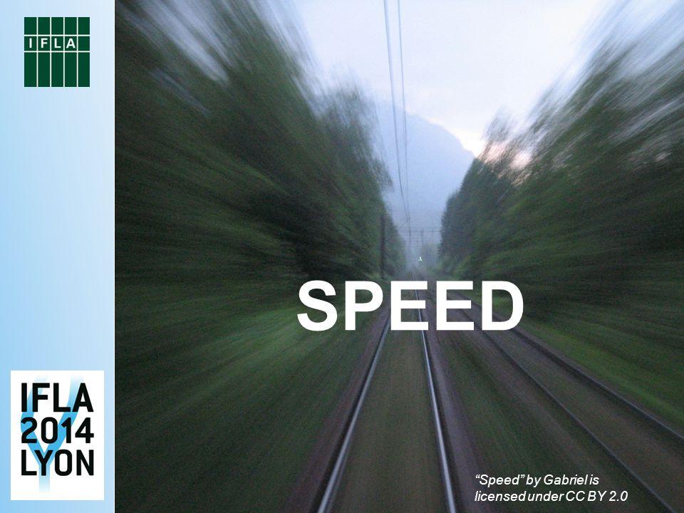 Speed by Gabriel is licensed under CC BY 2.0 SPEED
